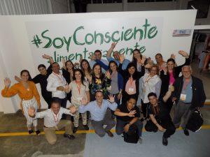 7 representantes de Bancos de Alimentos de Latinoamérica nos visitaron