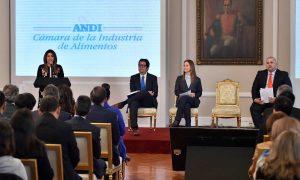 La Asociación de Bancos de Alimentos y la Cámara de la Industria de Alimentos de la ANDI se unen a la Gran Alianza por la Nutrición, liderada por la Primera Dama