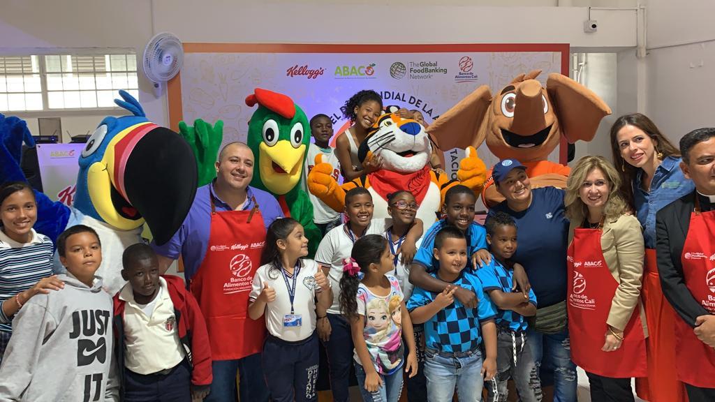 Banco de Alimentos y Kellog's realizaron una alianza en el Día Mundial de la Alimentacion