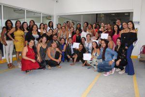 Nuestras mujeres se certificaron en el Programa de Emprendimiento.