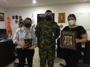 Agradecimientos por la alianza con la Tercera Brigada del Ejército Nacional de Colombia