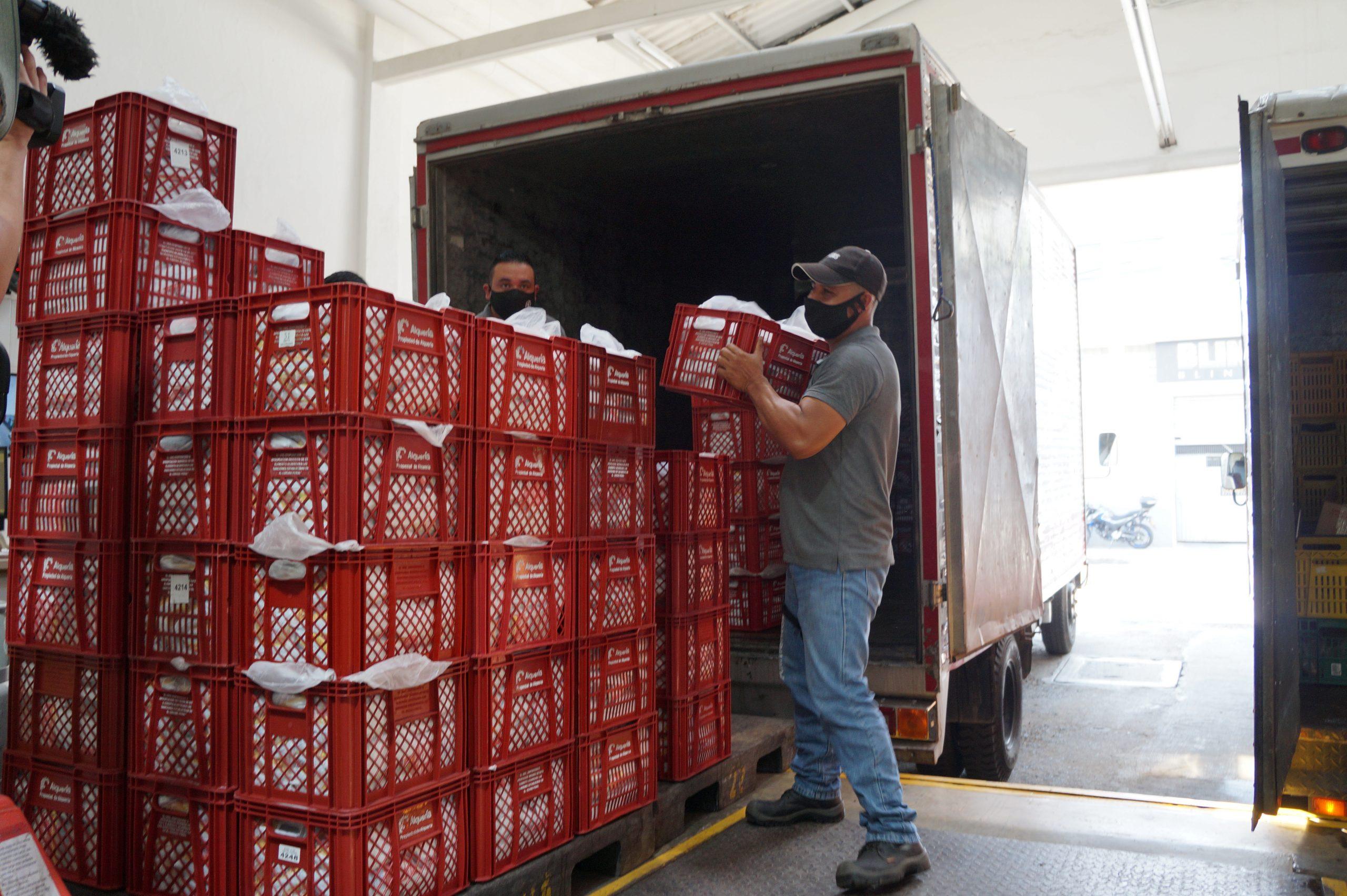 Empresa privada Alquería continúa aportando donaciones a nuestra campaña #UnidosPodemosMás