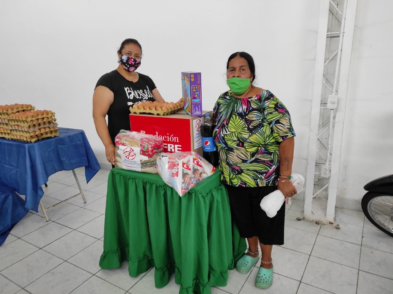 ENTREGA DONACIONES FUNDACIÓN DENOMINACIÓN PANAMERICANA POR LA OLA INVERNAL (17)