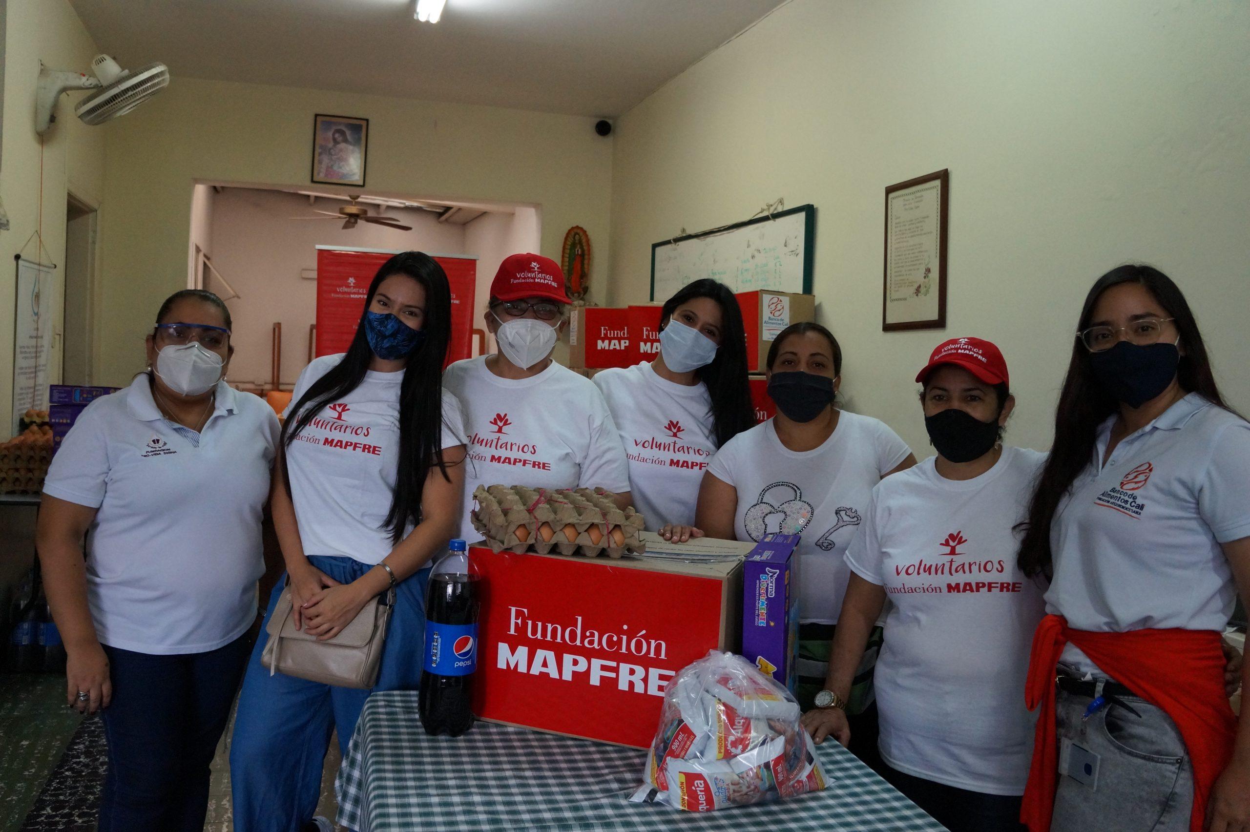 Entrega Donaciones Mapfre FUndación pro vida digna Mujeres lactantes (15)