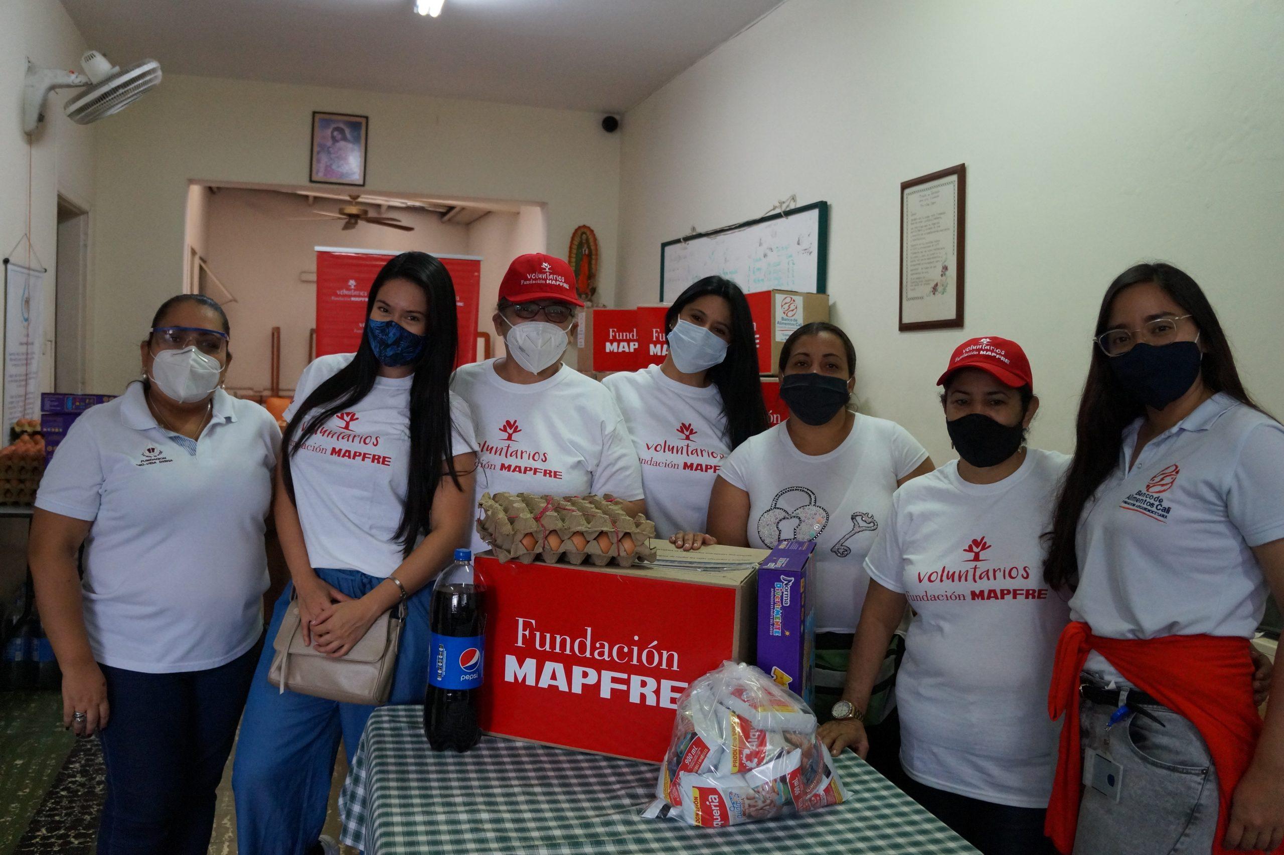 Entrega Donaciones Mapfre FUndación pro vida digna Mujeres lactantes (16)