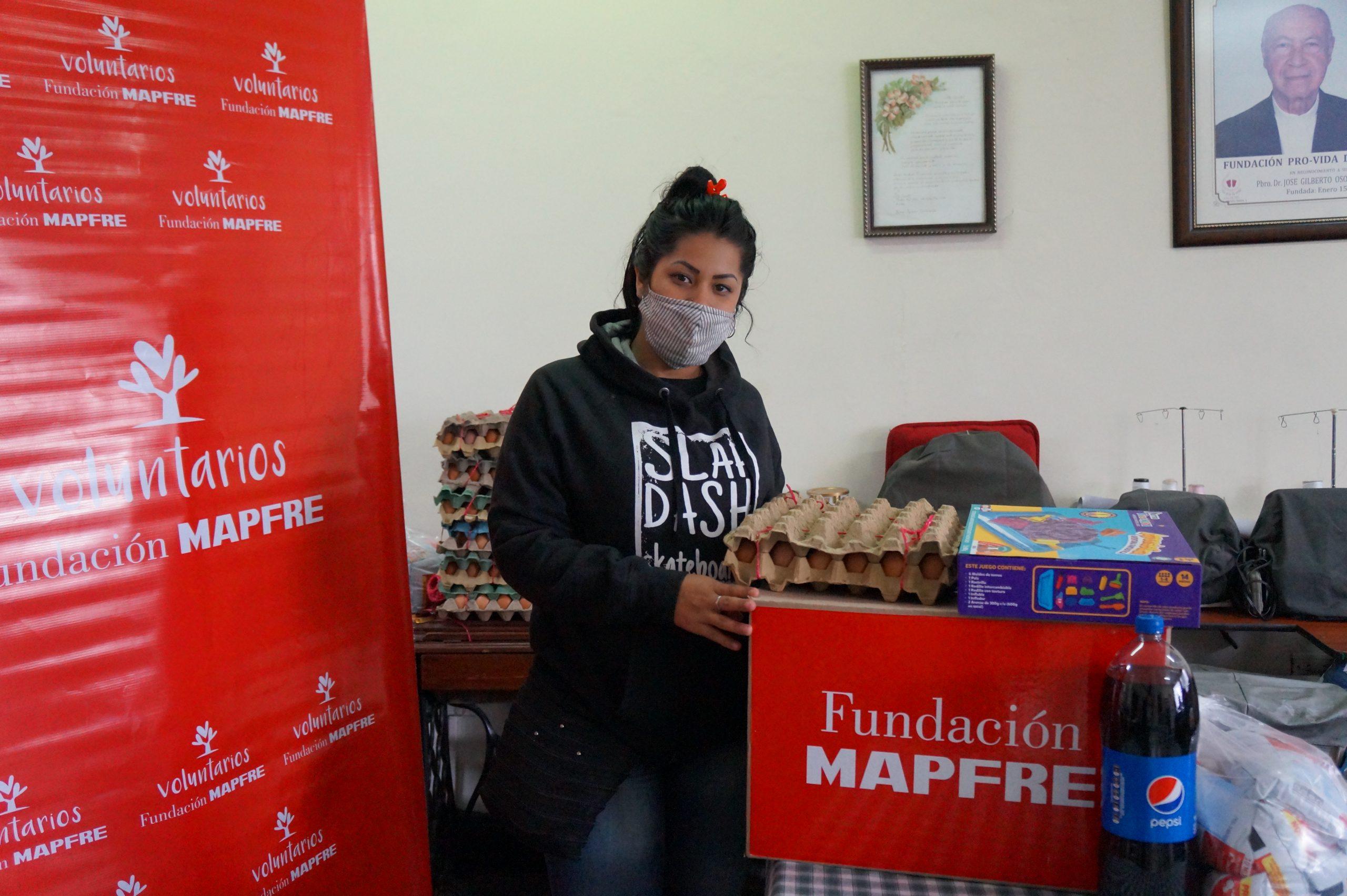 Entrega Donaciones Mapfre FUndación pro vida digna Mujeres lactantes (27)