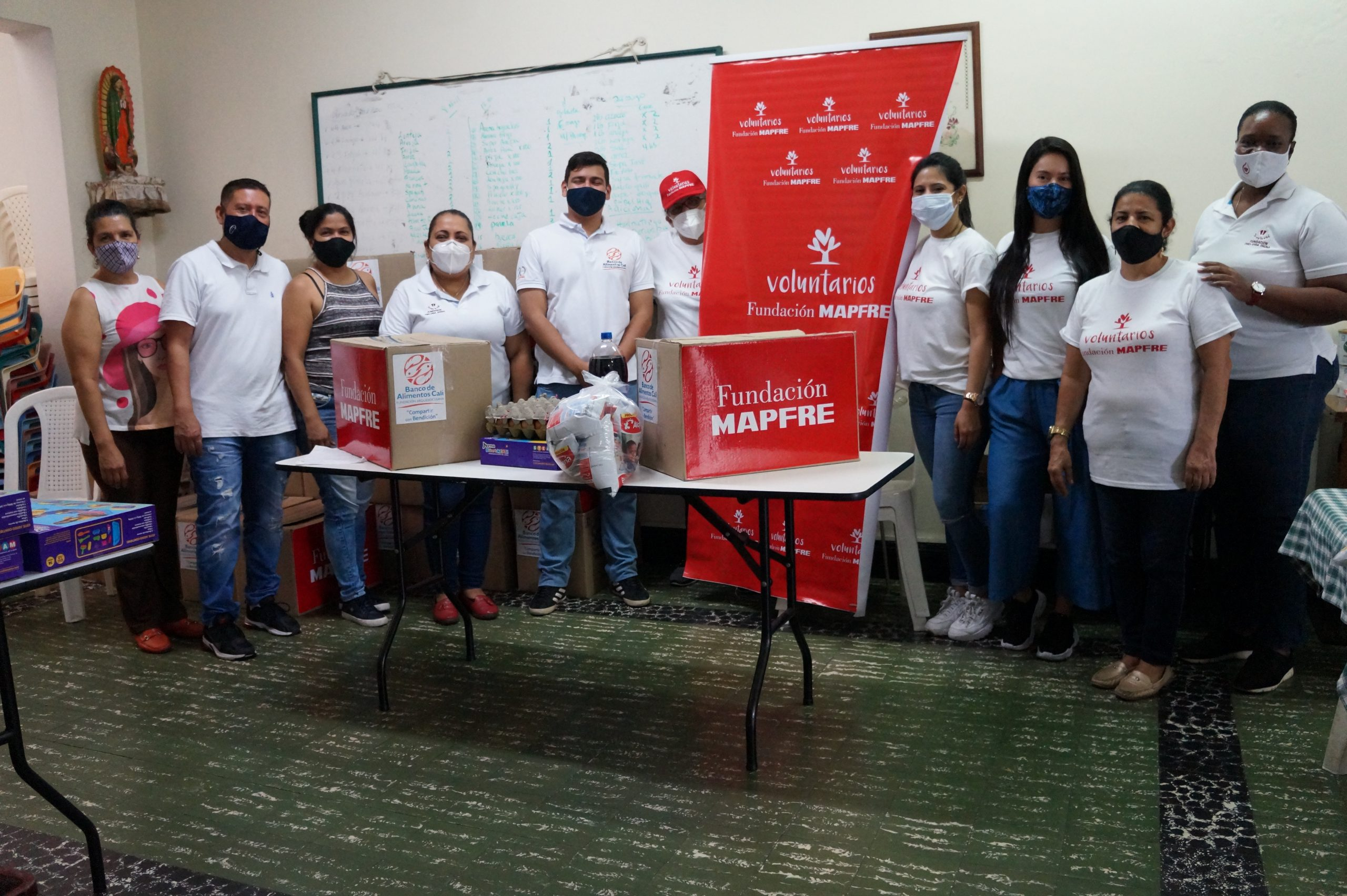 Entrega Donaciones Mapfre FUndación pro vida digna Mujeres lactantes (43)