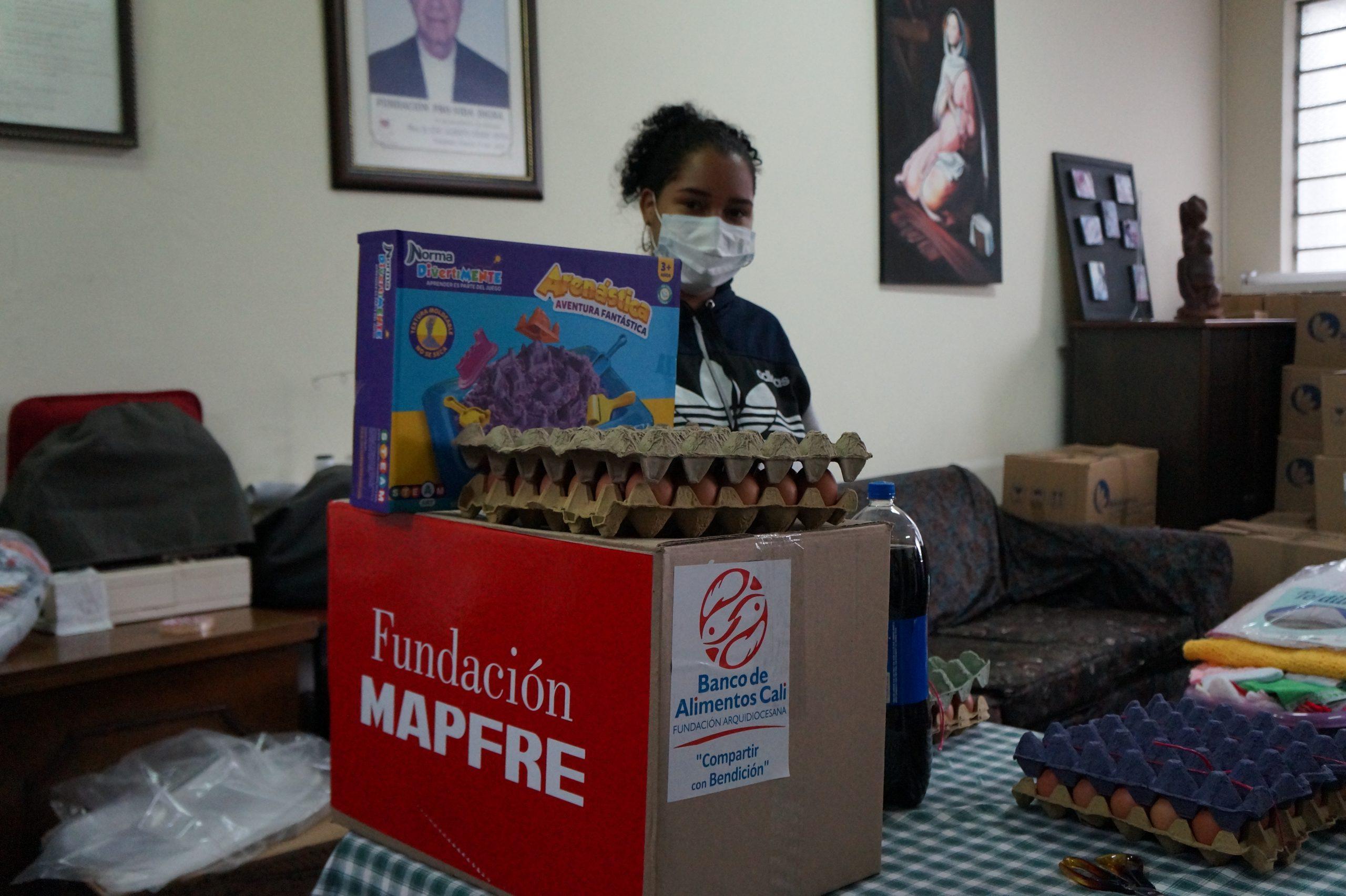 Entrega Donaciones Mapfre FUndación pro vida digna Mujeres lactantes (8)