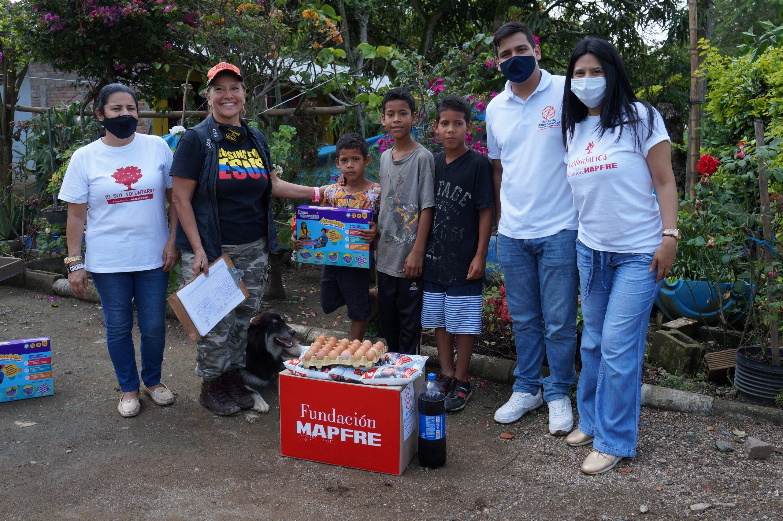 Entrega Donaciones Mapfre corregimiento Piles Fundación Cruising for Jesus (13)