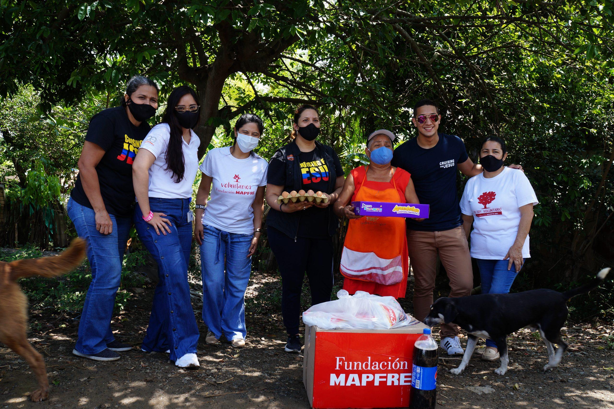 Entrega Donaciones Mapfre corregimiento Piles Fundación Cruising for Jesus (15)