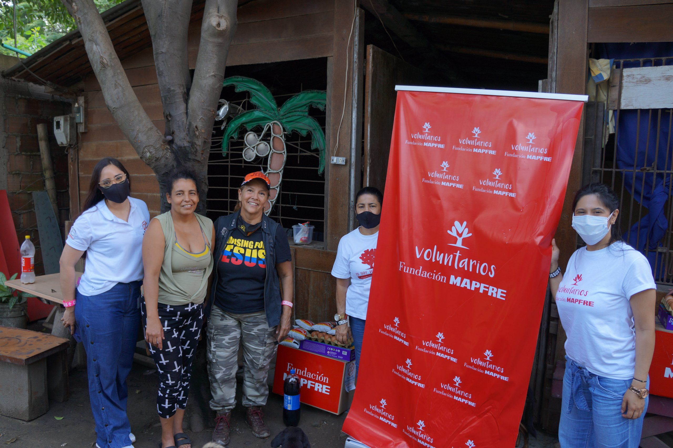 Entrega Donaciones Mapfre corregimiento Piles Fundación Cruising for Jesus (17)