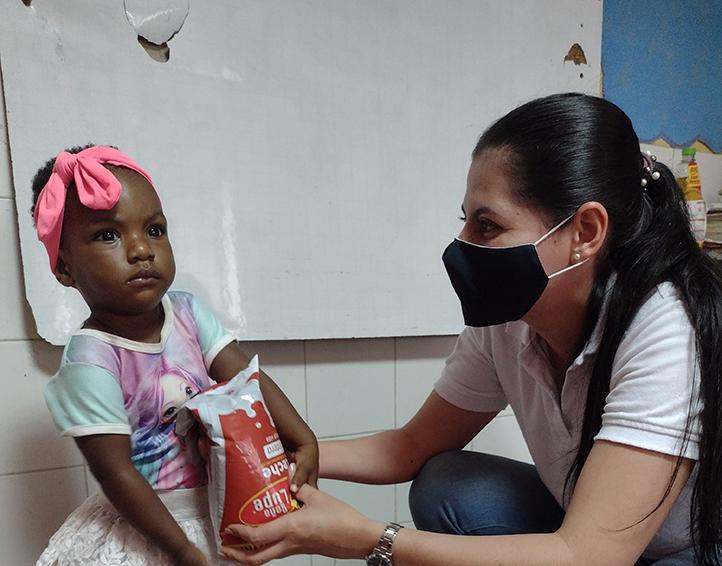 En este momento estás viendo 2.006 kits alimentarios beneficiaron la niñez en Cali en alianza de Embajada de Suiza-COSUDE